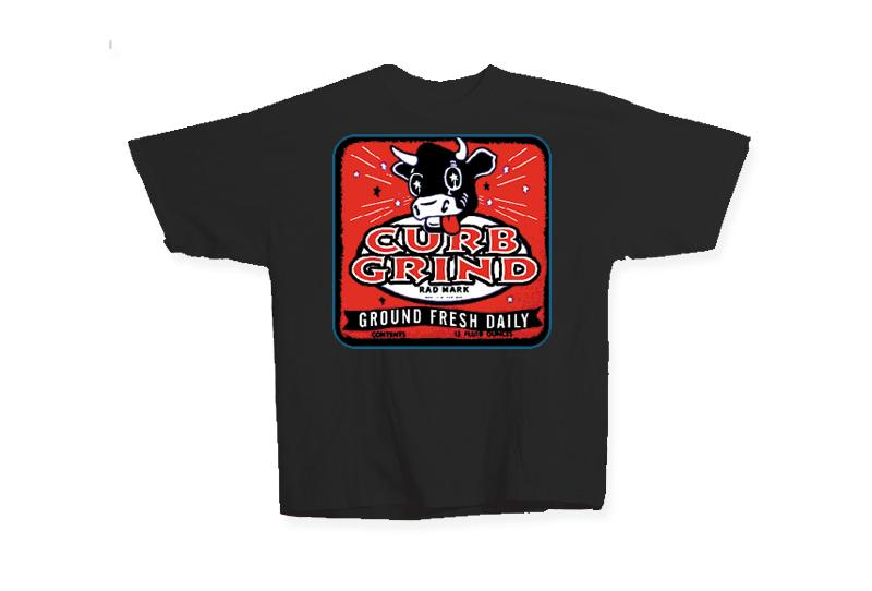 Asphalt Assault Curb Grind T-Shirt