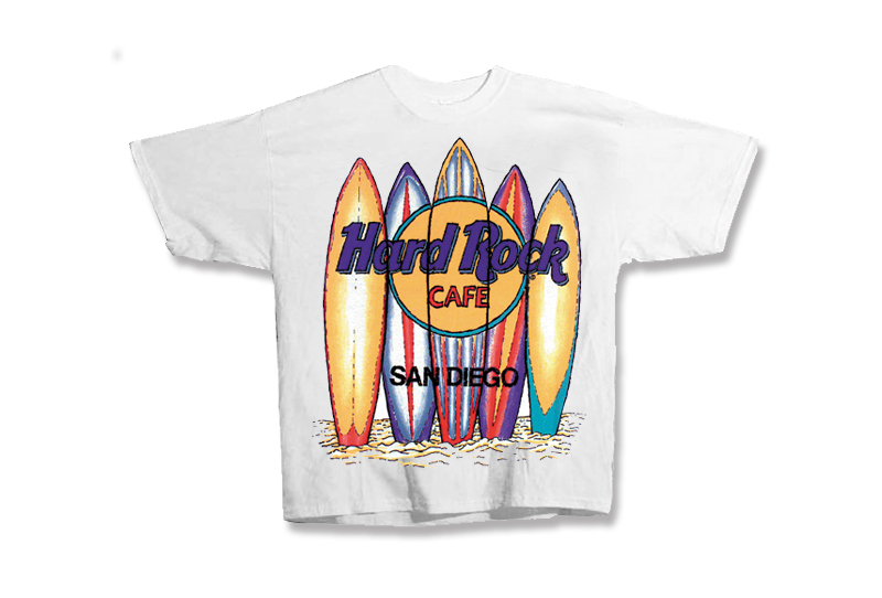 Hard Rock Cafe Surfboards T-Shirt