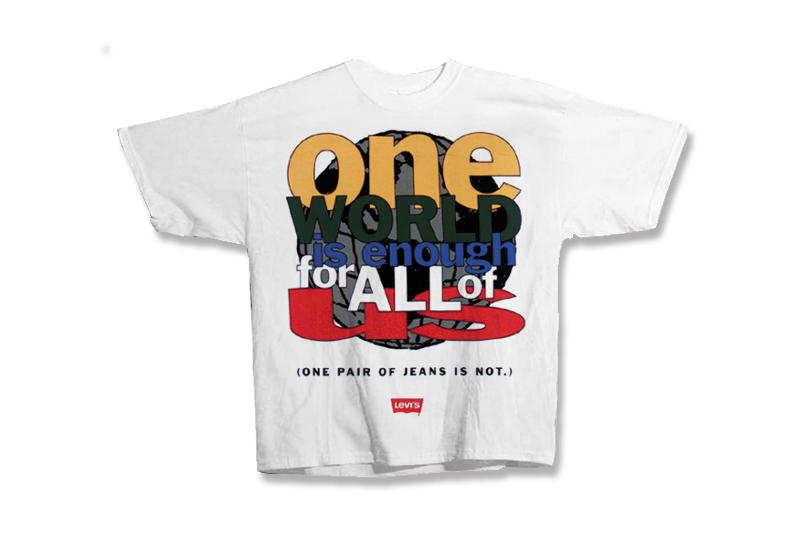 One World Levi's T-Shirt